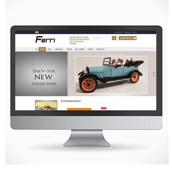 ferridiecast-webdesign